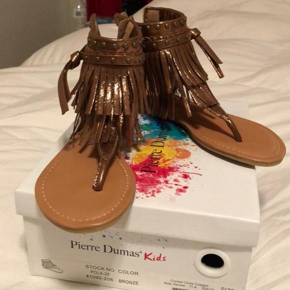 Pierre Dumas Kids Bronze Sandal   Poshmark